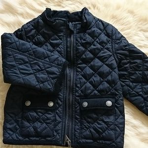 Light quilted jacket for boys